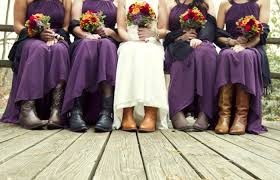 bridesmaid dresses with cowboy boots rustic bridesmaid dresses with cowboy boots