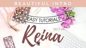 how to make a beautiful intro using filmora youtube