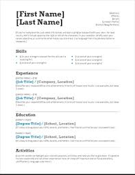 resume templates for job applications the ultimate list of simple free resume templates for your next