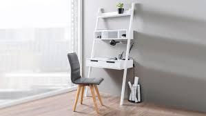 Arbeitstisch Ecke Hanry Retro Büro Arbeitstisch Mit Ablage Regal In Weiß
