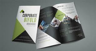single fold brochure template printable bi fold brochure template