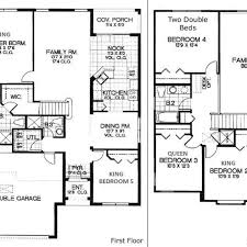 floor plans for a 5 bedroom house 35 5 bedroom house floor plans 653902 two story 5 bedroom 45