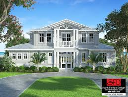 coastal plans south florida designs waterside 2 story coastal house plan