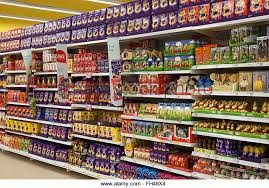Easter Decorations In Tesco by Easter Eggs Supermarket Stock Photos U0026 Easter Eggs Supermarket
