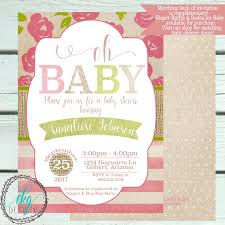 109 best baby shower invitation images on pinterest shower