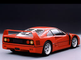cars ferrari super exotic and concept cars ferrari f40