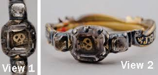 mourning ring mhs collections online gray mourning ring