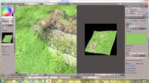 tutorial blender terrain beginning blender 2 60 tutorial 8 texture painting the terrain
