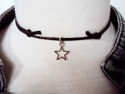choker necklace store images Star necklace star choker black choker choker necklace jpg