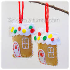 felt christmas ornaments house ornament felt christmas ornaments felt