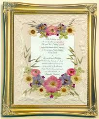 wedding flowers keepsake framed wedding invitations with real pressed flowers ultimate
