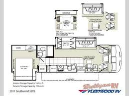 used 2011 fleetwood rv southwind 32vs motor home class a at
