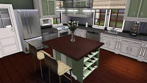 sims 3 kitchen ideas tip creating an island counter stove hob without cc