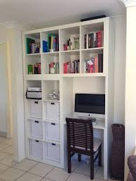 White Office Desk With Hutch by Home Design Floating Desk With Hutch Made Of Wood In White For
