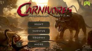 carnivores dinosaur apk carnivores dinosaur mod apk data