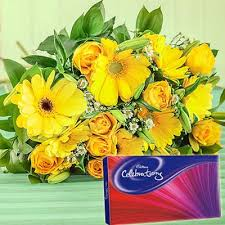 deliver flowers beautiful package with a bright flowers bouquet available