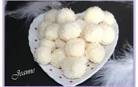 cuisiner truffe recette truffes au chocolat blanc et noix de coco 750g