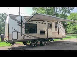 jayco ultra light travel trailers 2014 jayco white hawk 24rbs ultra lite travel trailer walk through