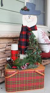 southern seazons christmas plaids on the front porch christmas plaids on the front porch