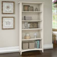 Bookcase In Wall Salinas Mission Desk With Hutch Lateral File Cabinet And 5 Shelf