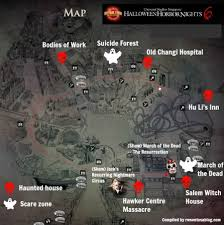 halloween horror nights map 2016 things that go bump in the night essential singapore