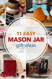 11 mason jar recipes for diy gifts