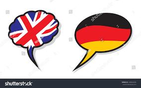 German British Flag British German Language Clouds Stock Vector 340604240 Shutterstock
