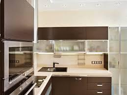 kitchen amazing glass front kitchen cabinets modern glass