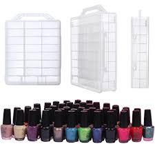 makartt universal clear nail polish organizer holder for 48