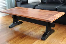 what is a trestle table ana white trestle table with mahogany top diy projects