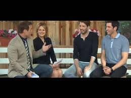 Drew And Jonathan Drew And Jonathan Scott Appear On The Hallmark Channel Home And