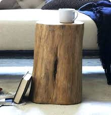 tree trunk bedside table tree trunk bedside table natural tree stump side table simple and