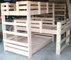 3 Way Bunk Bed Bunk Beds Timber Bunk Bed Size Of Person 3 Way Tier Plans