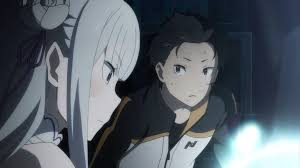 subaru anime character image emilia and subaru png re zero wiki fandom powered by wikia
