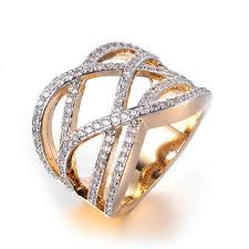 long gold rings images China bringing clarity x infinity 24 karat gold interweave cross jpg