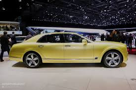 new bentley mulsanne 2017 2017 bentley mulsanne speed brings reasonable velocity to the rich
