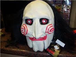 Saw Mask Saw Puppet Mask Mad Hatters Fancy Dress And Party Shop