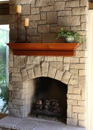 stone fireplace simplicity white marvelous idea 42 on home design