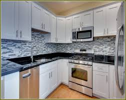 Black Kitchen Cabinet Hardware Hardware Kitchen Cabinets White With Black The Everygirl Decorates