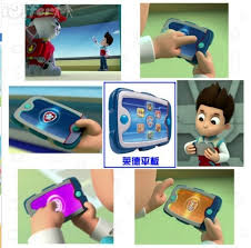 children toy paw patrol tablet computer puzzle learning sale