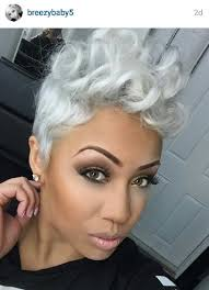 african american hairstyles for grey hair that cut and color makeup pinterest short hair shorts and