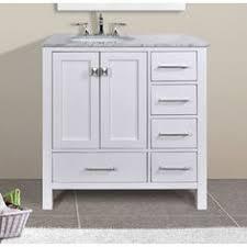 Bathroom Vanity With Offset Sink 36 Inch Bathroom Vanity With Offset Sink Virtu Usa 36