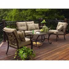 Agio Outdoor Patio Furniture by Agio International Fair Oaks 4pc Seating Set Limited