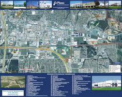 Map Of North Dallas by David Hicks Company Plano Texas Commercial Properties Available