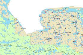 Bwca Map Topo Map Of Lake Vermilion Mn Infolakes Co