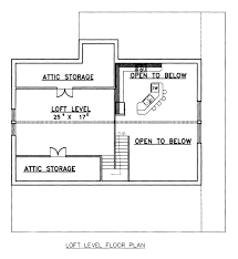 Two Level Floor Plans House Plan 87101 At Familyhomeplans Com