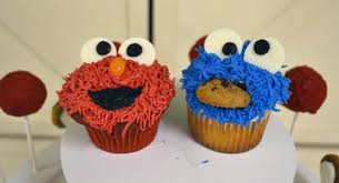 elmo cupcakes sesame cupcake and dessert tower by before dinner