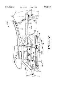 patent us5761757 passenger boarding bridge for servicing