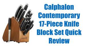 calphalon kitchen knives calphalon contemporary knife set review