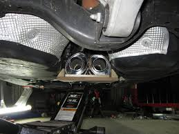 Porsche Cayenne 955 Exhaust - install custom full 3
